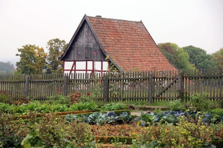 Évitez d'avoir un jardin près de votre maison
