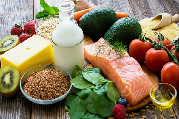 Mangez des aliments nourrissants